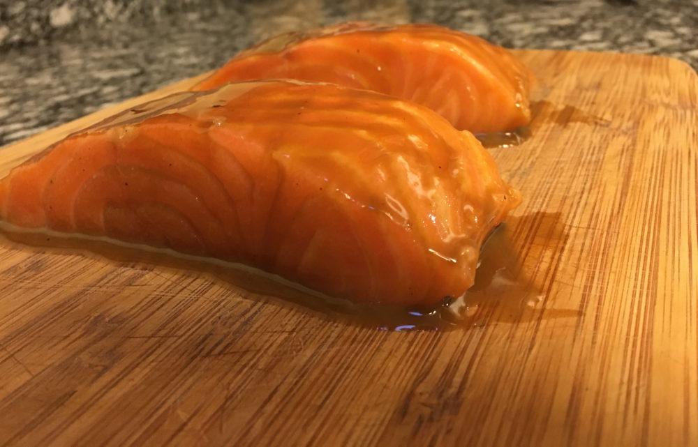cedar plank salmon raw