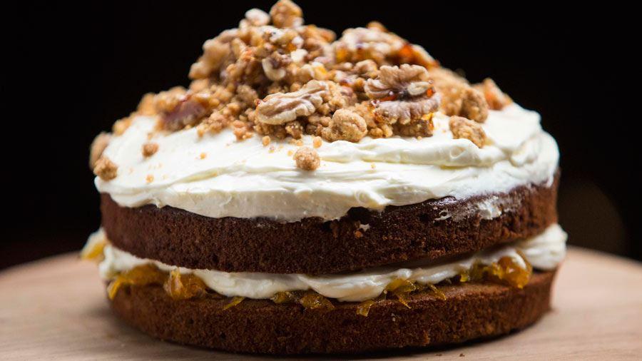 Ginger Caramel Cake Masterchef