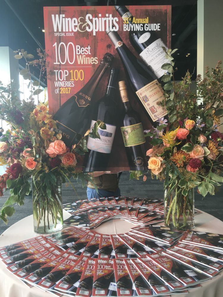 Wine Spirits Magazine 2017 Top 100 Briscoe Bites