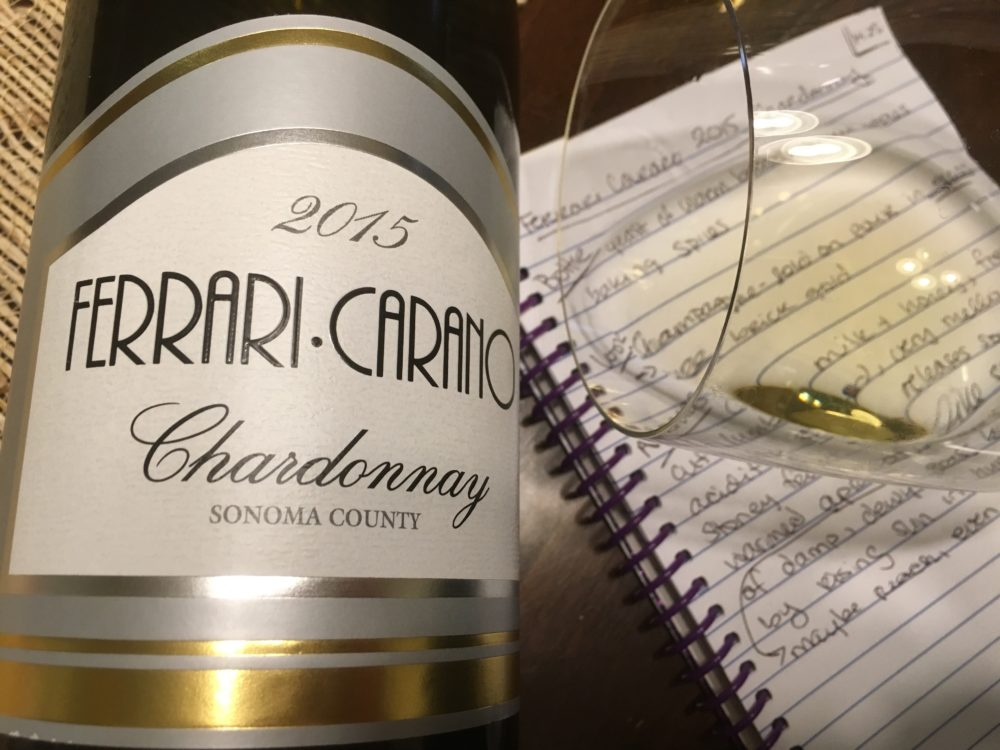 About The Wine: The Ferrari Carano 2015 Chardonnay Is Made Of 100%  Chardonnay Grapes Harvested From 60 Individual Estate Chardonnay Lots From  The Alexander ...