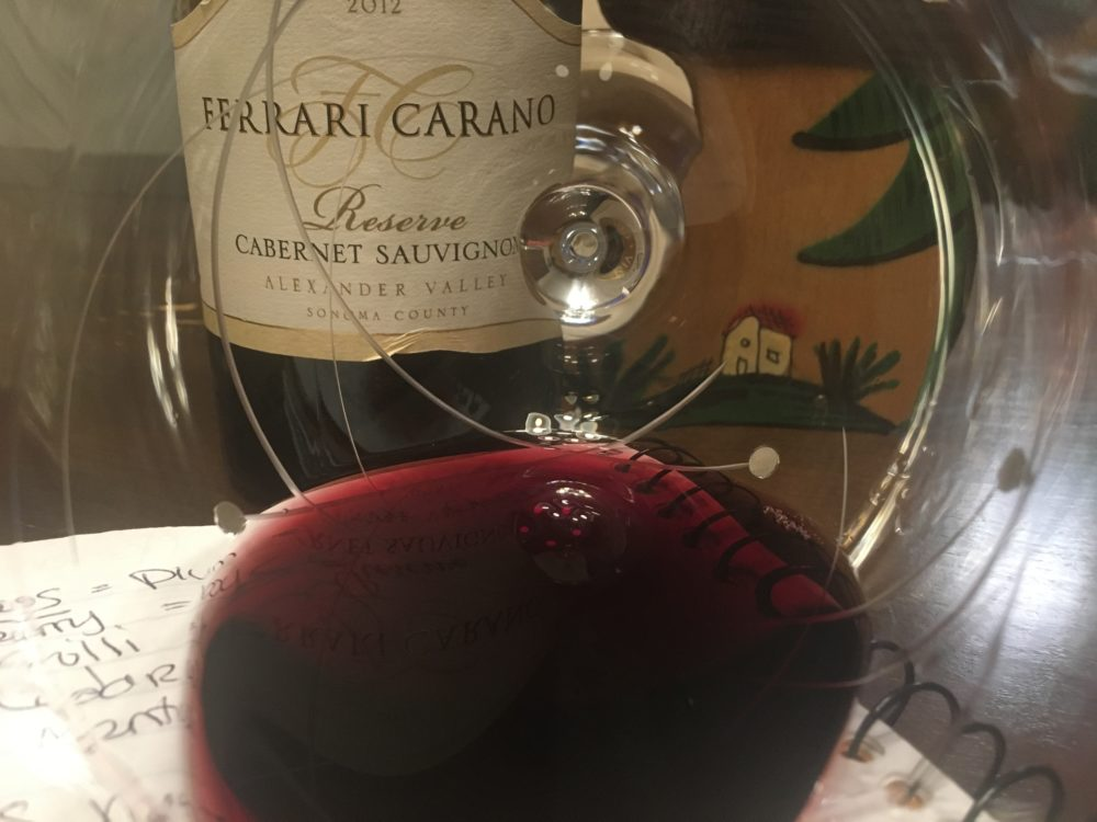 About The Wine: The Ferrari Carano 2012 Reserve Cabernet Sauvignon Is Made  From 100% Cabernet Sauvignon Grapes Harvested From Sonoma Countyu0027s  Alexander ...